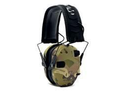 Walker's Razor Slim Low Profile Electronic Earmuffs (NRR 23dB) Multicam