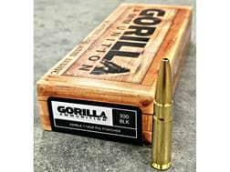 Gorilla Pig Punisher Ammunition 300 AAC Blackout 110 Grain Solid Copper Fragmenting Lead-Free