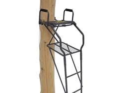 Rivers Edge Bowman Ladder Treestand Steel Gray