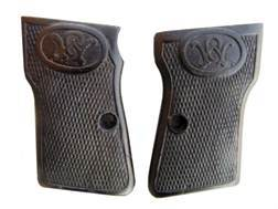 Vintage Gun Grips Walther #3 32 ACP Polymer Black