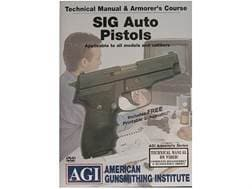 """American Gunsmithing Institute (AGI) Technical Manual & Armorer's Course Video """"Sig Sauer Auto Pi..."""