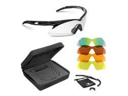 Radians SHIFT Shooting Glasses Green Mirror, Copper, Orange, Amber, and Clear Lenses