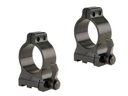 """Talley 1"""" Quick Detachable Ring Mounts CZ 550 With Lever Matte Medium"""