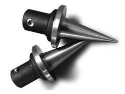 Atlas Bipod Quick Change Spike Feet Stainless Steel Black