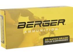 Berger Match Grade Ammunition 6.5 Creedmoor 140 Grain Hybrid Target Box of 20