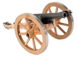 "Traditions Mini Napoleon III Black Powder Cannon Kit 50 Caliber 7.25"" Steel Barrel Hardwood Carriage"