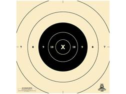 NRA Official Pistol Targets Repair Center B-8(P) 25 Yard Timed and Rapid Fire Paper Package of 100