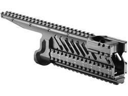 FAB Defense 6-Rail Integrated Rail System Micro Galil Aluminum Black