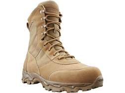 "BLACKHAWK! Desert Ops 8"" Tactical Boots Leather/Nylon Coyote 498 Men's 10 D"
