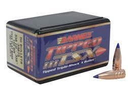 Barnes Tipped Triple-Shock X (TTSX) Bullets 338 Caliber (338 Diameter) 160 Grain Spitzer Flat Bas...
