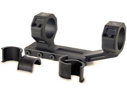 "JP Enterprises 1-Piece Scope Mount Picatinny-Style with Integral 30mm Rings with 1"" Inserts Flat-..."