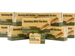 IMI Ammunition 9mm Luger 115 Grain Di-Cut Jacketed Hollow Point Ammo Box of 500 (10 Boxes of 50)