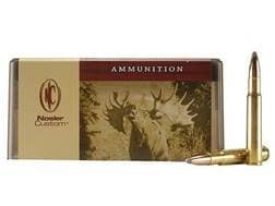 Nosler Custom Ammunition 338-06 A-Square 210 Grain Partition Spitzer Box of 20