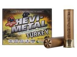 "Hevi-Shot Hevi-Metal Turkey Ammunition 12 Gauge 3-1/2"" 1 1/2 oz #4, 6 Hevi-Shot Non-Toxic Box of 5"