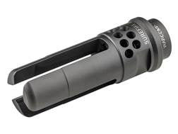 Surefire WarComp Flash Hider 762 SOCOM Suppressor Adapter AK-47 M14x1 LH Steel Matte