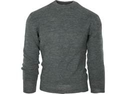 Military Surplus Swiss Sweater Grade 2 Acrylic Gray Large