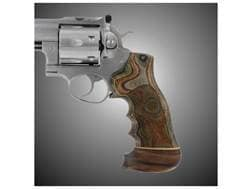 Hogue Fancy Hardwood Grips with Accent Stripe, Finger Grooves and Contrasting Butt Cap Ruger GP10...