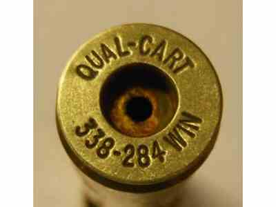 Quality Cartridge Reloading Brass 338-284 Winchester Box of 20