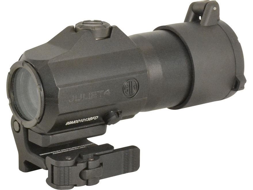 Sig Sauer JULIET4 4x 24mm Magnifier Powercam Quick-Release Mount with Spacers Black