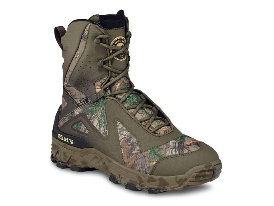 "Irish Setter VaprTrek LS 9"" Waterproof 800 Gram Insulated Hunting Boots Ripstop Men's"