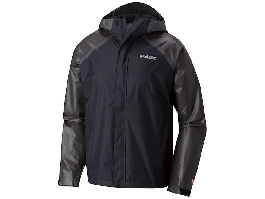 Columbia Men's PFG ODX Hybrid Waterproof Jacket Nylon