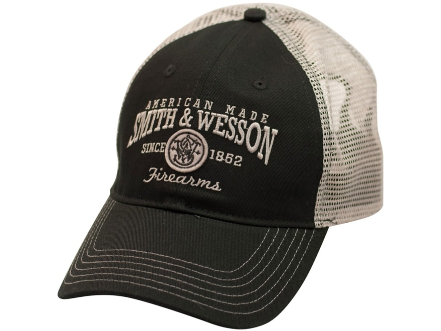 Smith & Wesson American Made Logo Cap Polyester Black One Size Fits Most