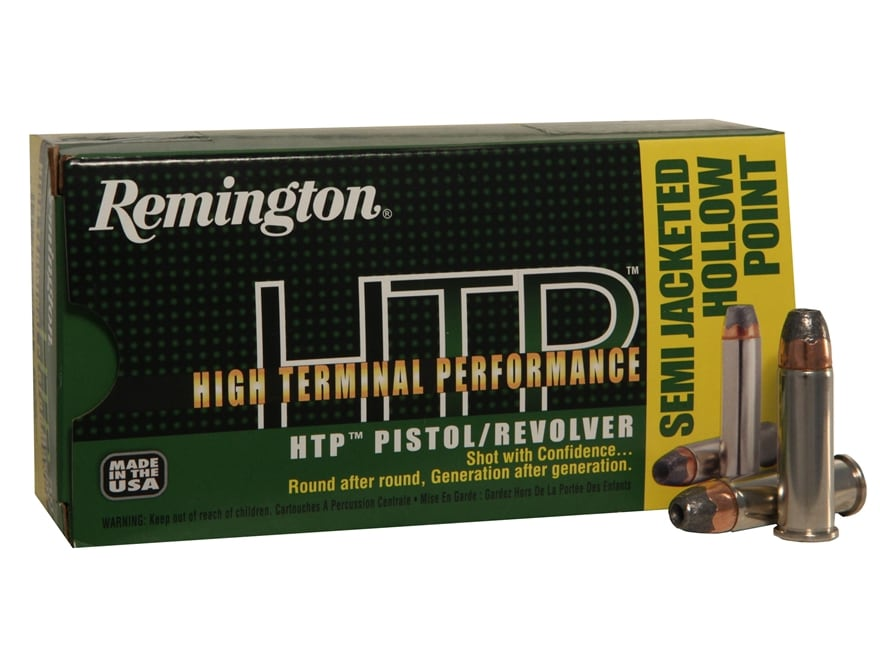 Remington High Terminal Performance Ammunition 38 Special +P 125 Grain Semi-Jacketed Ho...