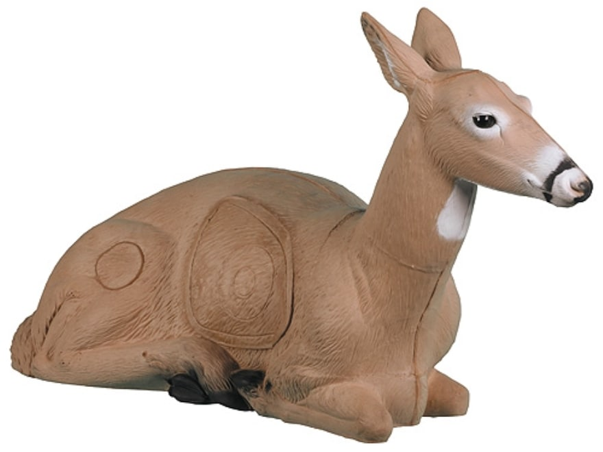 Rinehart Bedded Doe Deer 3-D Foam Archery Target