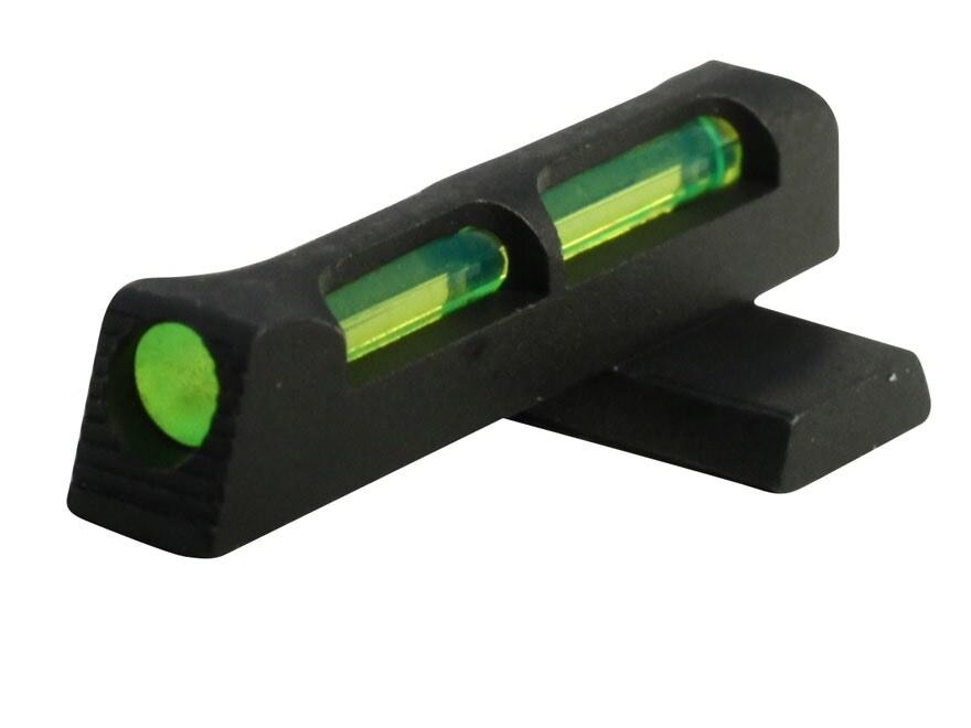 HIVIZ Front Sight Springfield XD, XD-M Fiber Optic 3 Interchangeable Lite Pipes
