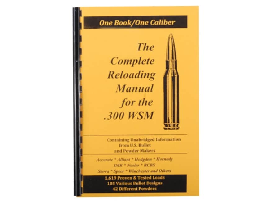 "Loadbooks USA ""300 Winchester Short Magnum"" Reloading Manual"