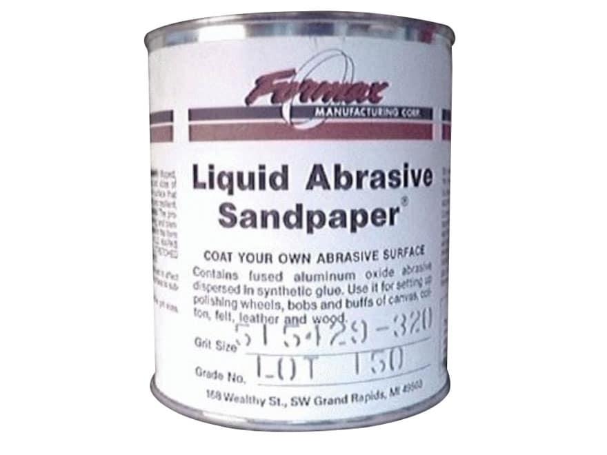 Formax Liquid Abrasive Sandpaper 1 Quart