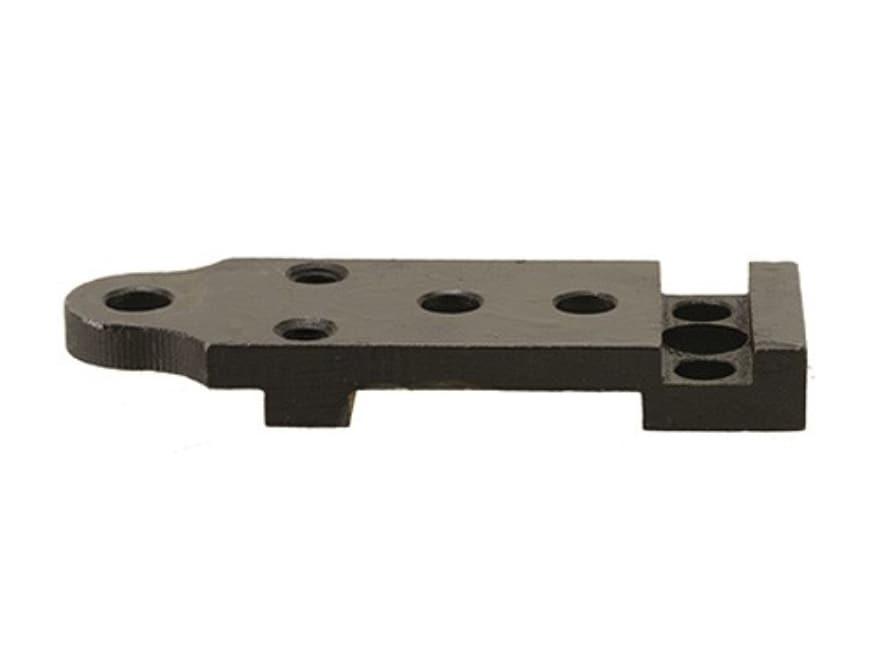 Leatherwood Hi-Lux William Malcolm Sharps Heavy Recoil Rear Scope Base Plate Matte
