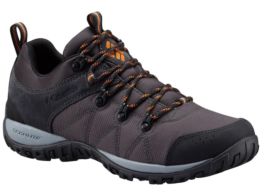 "Columbia Peakfreak Venture LT 4"" Waterproof Hiking Shoes Leather/Nylon Shark/Valencia M..."