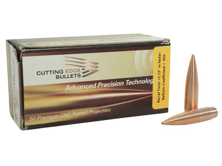 Cutting Edge Bullets Match Tactical Hunting Bullets 408 Caliber (408 Diameter) 415 Grai...