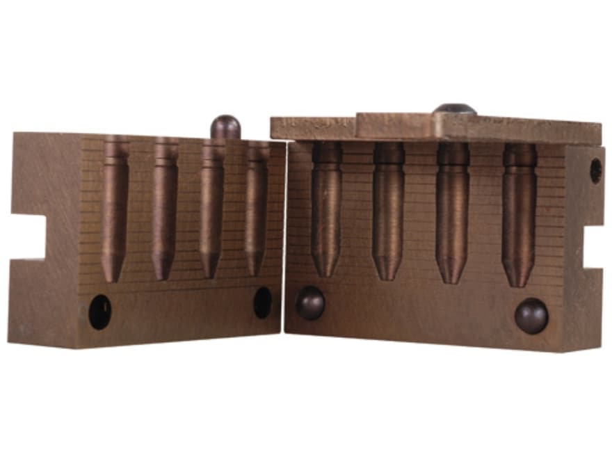 Saeco Bullet Mold #071 284 Caliber, 7mm (285 Diameter) 160 Grain Truncated Cone Gas Check