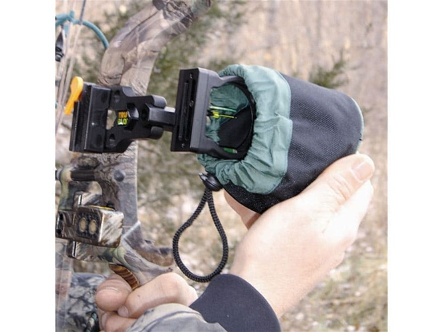 HME Heavy Duty Bow Sight Pin Cover Polyester Black and Green