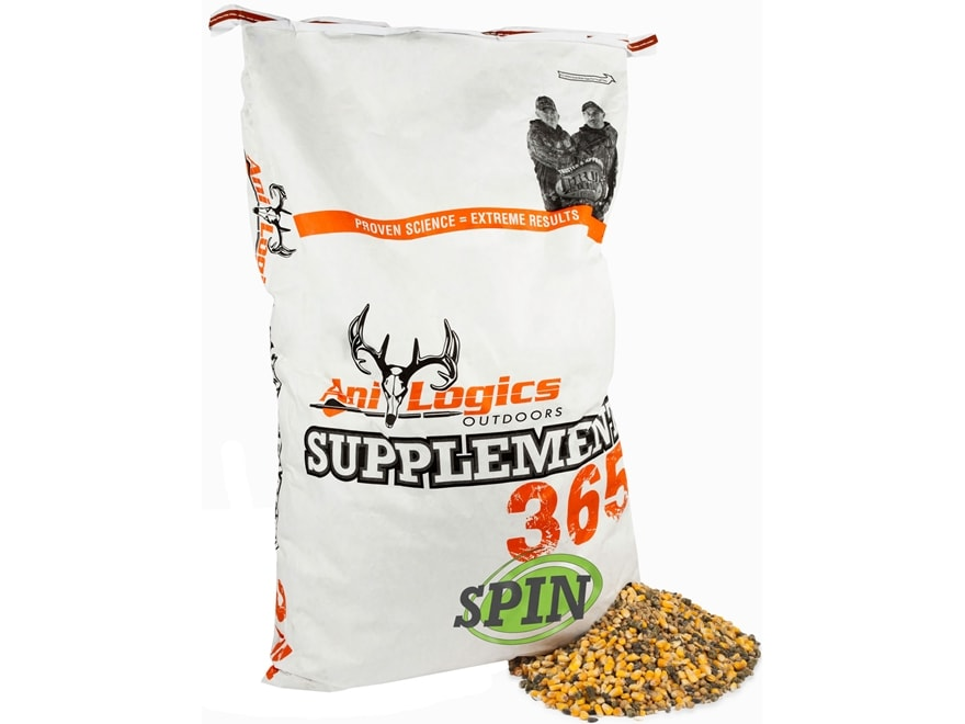 Anilogics Supplement 365 Spin Deer Supplement in 50 lb bags