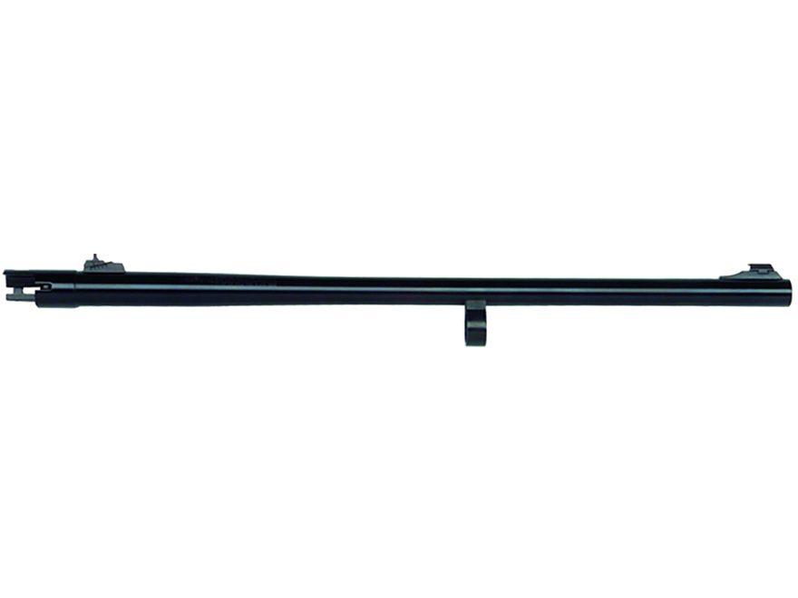 "Mossberg Slug Barrel Remington 870 12 Gauge 3"" 24"" Rifled with Rifle Sights Steel Blue"