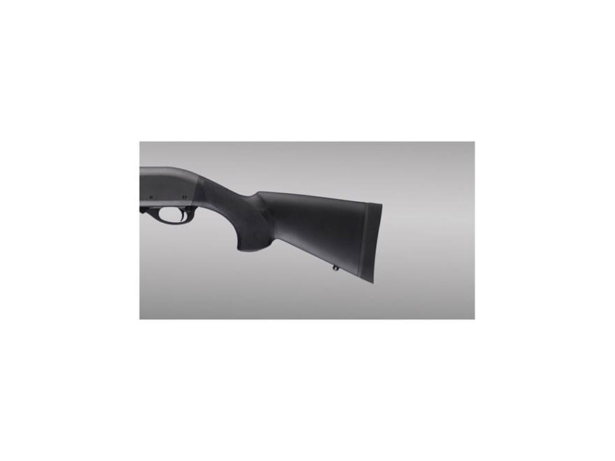 """Hogue Rubber OverMolded Stock Remington 870 with 12"""" Length of Pull Synthetic Black"""