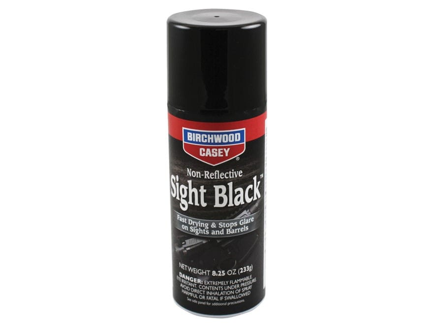 Birchwood Casey Sight Black Gun Finish 8.25 oz Aerosol Matte Black
