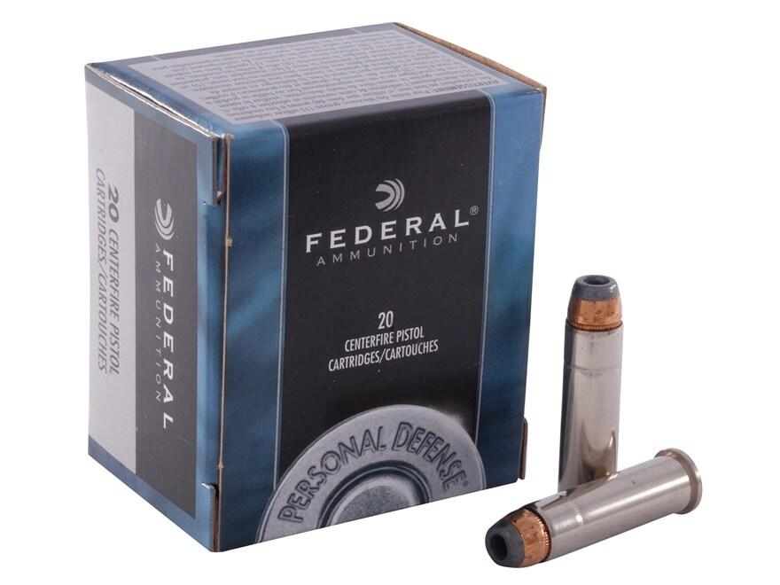 Federal Premium Personal Defense Ammunition 357 Magnum 125 Grain Jacketed Hollow Point ...