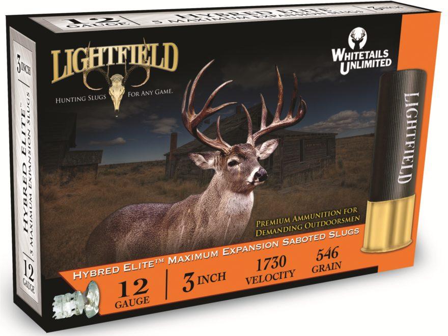 "Lightfield Hybred-Elite Ammunition 12 Gauge 3"" 1-1/4 oz Sabot Slug Box of 5"