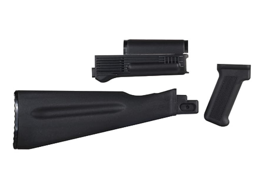 Arsenal, Inc. Complete Buttstock and Handguard Set NATO Length AK-47, AK-74 Stamped Rec...