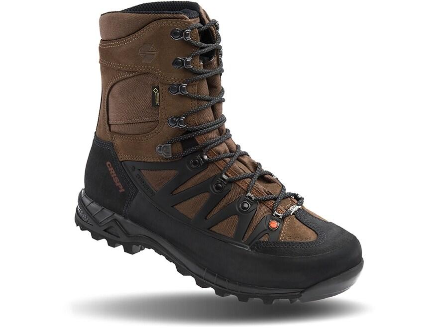 "Crispi Idaho Plus GTX 10"" Waterproof GORE-TEX Hunting Boots Leather Men's"
