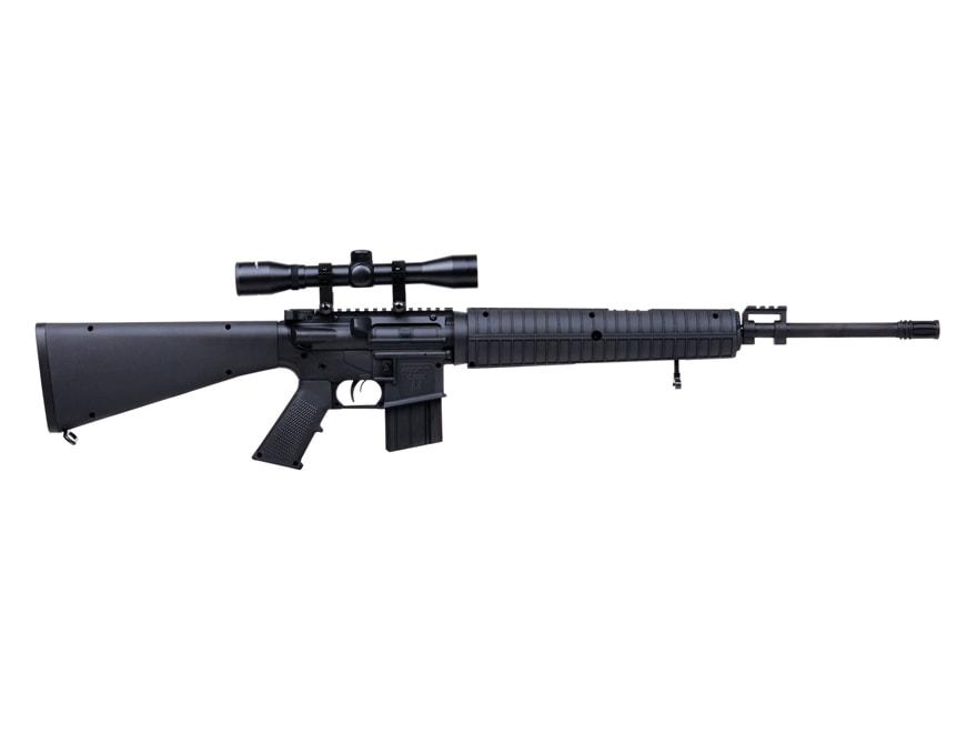 DPMS Classic A4 Nitro Piston Break Barrel Air Rifle 177 Caliber Pellet Black Synthetic ...