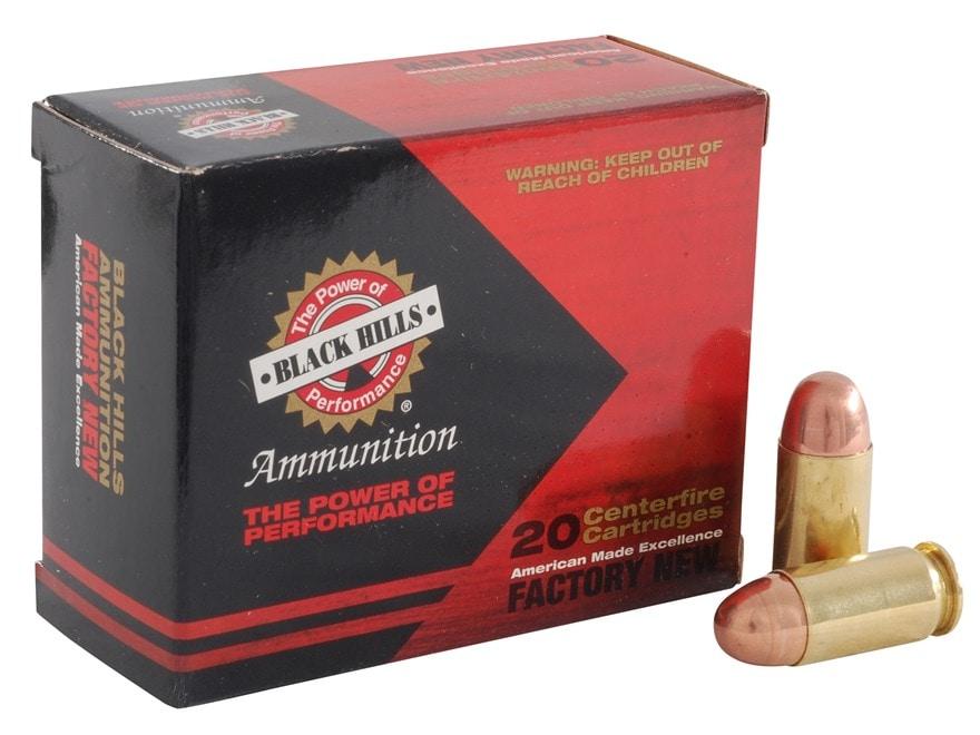 Black Hills Ammunition 45 ACP 230 Grain Full Metal Jacket Box of 20