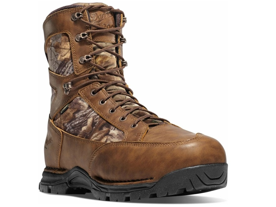 "Danner Pronghorn 8"" Waterproof GORE-TEX 1200 Gram Insulated Hunting Boots Leather/Nylon..."