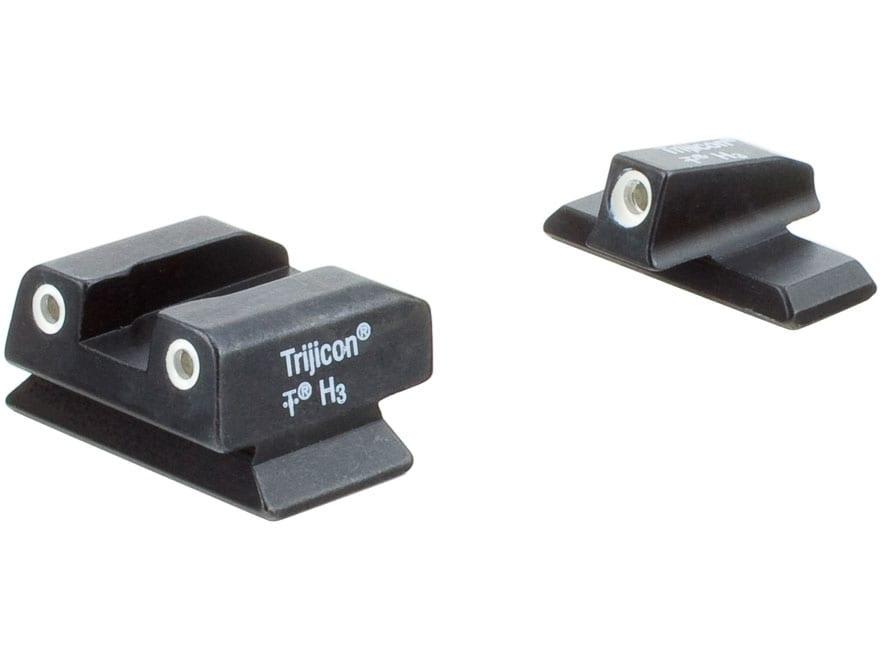 Trijicon Bright & Tough Night Sight Set Beretta Px4 Storm Compact Steel Matte 3-Dot Tri...