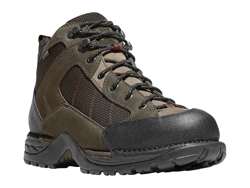 "Danner Radical 452 5.5"" Waterproof GORE-TEX Hiking Boots Leather/Nylon Coffee Men's"