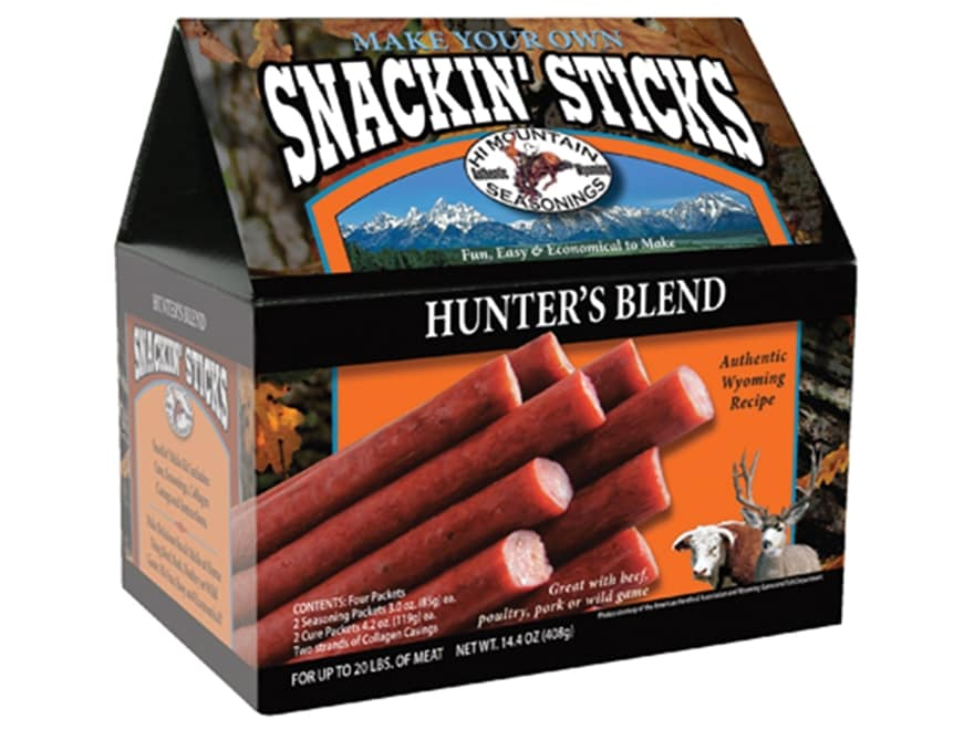 Hi Mountain Snackin Stick Sausage Kit